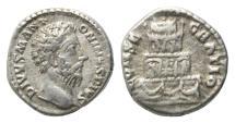 Ancient Coins - Roman Empire, AR Denarius, Commodus, VF
