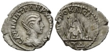 Ancient Coins - Tranquillina, AR Drachme