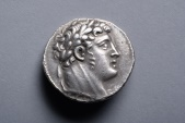 Ancient Coins - Superb Ancient Jewish Silver Temple Tax Coin or Shekel of Tyre - 92 BC