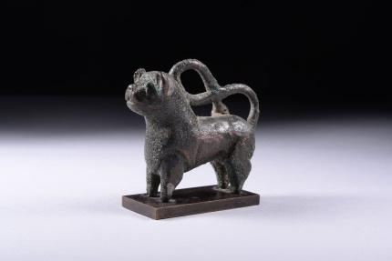 World Coins - Ancient Islamic Seljuk Bronze Lion - 1000 AD