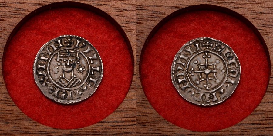 Norman Silver Penny Coin Of King William The Conqueror