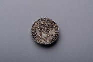 World Coins - Anglo Saxon Silver Penny Coin of King Edward the Confessor - 1042 AD