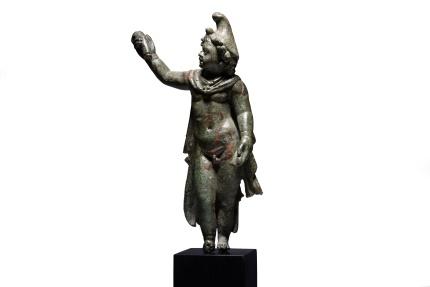 Ancient Coins - Ancient Roman Bronze Statuette of Attis - 50 AD