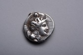Ancient Coins - Ancient Greek Silver Stater Coin from Thurium - 350 BC