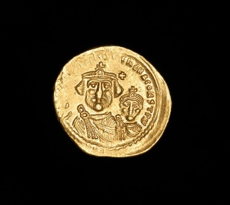 Ancient Coins - Ancient Gold Byzantine Solidus Coin of Emperor Heraclius - 610 AD