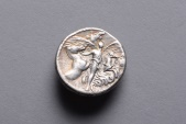 Ancient Coins - Ancient Roman Republican Silver Denarius Coin of Plautius Plancus - 47 BC