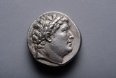 Superb Ancient Greek Silver Tetradrachm Coin of King Attalos of Pergamon - 241BC EX LEU 1975