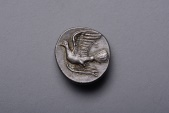 Ancient Coins - Exceptional Ancient Greek Silver Hemidrachm Triobol Coin from Sikyon - 330 BC