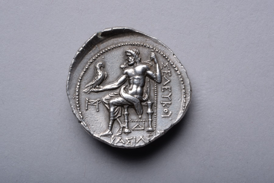 Ancient Coins - Ancient Greek Silver Alexander Tetradrachm Coin of Seleucus - 300 BC
