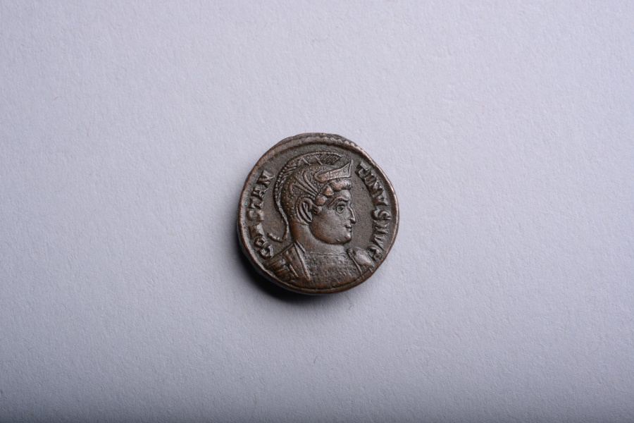 Ancient Coins - Ancient Roman Follis Coin of Constantine the Great - 321 AD