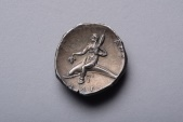Ancient Coins - Ancient Greek Silver Didrachm Coin from Taras - 280 BC