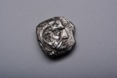 Ancient Coins - Rare Ancient Greek Cypriot Salamis Silver Stater Coin of Evagoras I - 411 BC