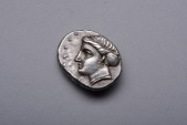 Ancient Coins - Beautiful Ancient Greek Silver Drachm Coin from Sinope - 330 BC