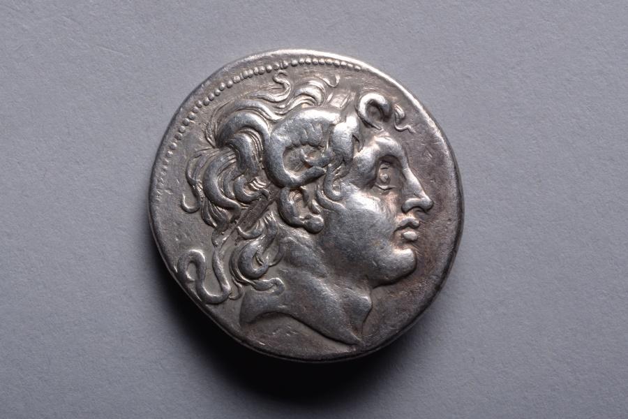 Ancient Coins - Ancient Greek Silver Lysimachos Tetradrachm Coin - 297 BC