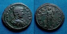 Ancient Coins - Roman provincial, Severus Alexander AE 27mm  R./  Serapis