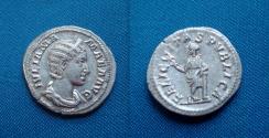 Ancient Coins - Julia Mamaea AR Denarius