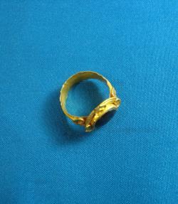 Ancient Coins - Ancient Saxon Gold Ring