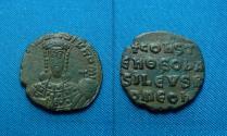 Ancient Coins - Constantine VII, AE Follis. Constantinople mint.