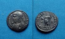 Ancient Coins - Roman Imperial Constantine I. Æ Follis Alexandria , RARE