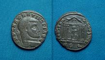Ancient Coins - Maxentius AE Follis. 26mm AD. Rome