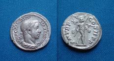 Ancient Coins - Severus Alexander Denarius/ Mars