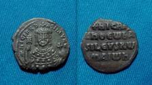 Ancient Coins - Byzantine, Nicephorus II Phocas Æ Follis