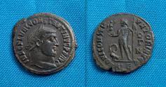 Ancient Coins - Constantine I, AE follis, Alexandria, Very RARE