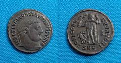 Ancient Coins - Constantine I AE Follis, Nicomedia, RARE- R3