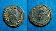Ancient Coins - Licinius I AE Follis 25mm, Heraclea, Scarce