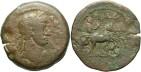 Ancient Coins - Hadrian, AE Drachm, 119/120 (Year 4), Egypt-Alexandria - Emmett 960 (Ex Keith Emmett Collection)