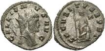 Ancient Coins - Gallienus, Silvered Antoninianus, 265-267, Sole Reign, Rome - RIC V, Part I, 280; Göbl 595a