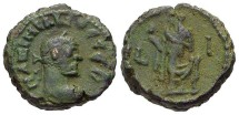 Ancient Coins - Maximianus, AE Tetradrachm, 294/295 (Year 10), Egypt-Alexandria - Emmett 4114; Milne 5162; Curtis --; BMC 2559 (Ex Keith Emmett Collection)
