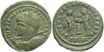 Ancient Coins - Constantine I, AE3, 319, Siscia, Officina 4 - RIC VII, 82 (Unattested officina)