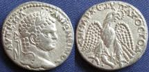 Ancient Coins - Roman Provincial, Caracalla, AR Tetradrachm, 215-217, Fifth Group, Cornucopiae Issues, Dotted Wing Series, Antiochia ad Orontem - Prieur 244