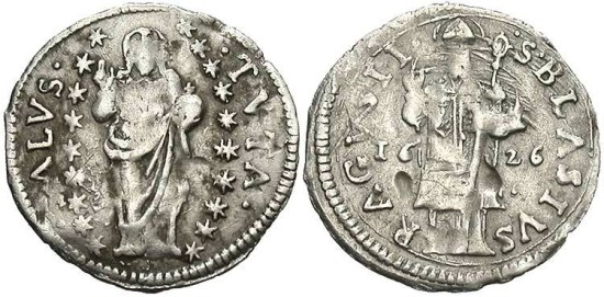 Ancient Coins - Ragusa, Grosetto, 1626 - KM 5