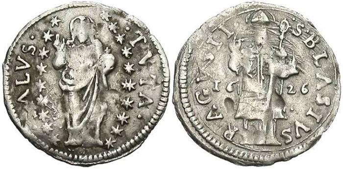 Ancient Coins - Ragusa, Grosetto, 1626 - KM 5