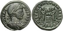 Ancient Coins - Crispus, AE3, 319-320, Siscia, Officina 3 - RIC VII, 97