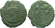 Ancient Coins - Undetermined VLPP Imitative Type, AE3 - II in exergue