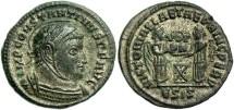 Ancient Coins - Constantine I, AE3, 318-319, Siscia, Officina 5 - RIC VII, 53