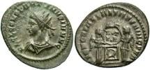 Ancient Coins - Constantine II, AE3, 320, London - RIC VII, -- (cf. RIC 181)
