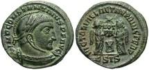 Ancient Coins - Constantine I, AE3, 318-319, Siscia, Officina 4 - RIC VII, 53