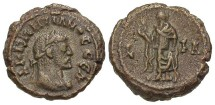 Ancient Coins - Diocletian, AE Tetradrachm, 294/295 (Year 11), Egypt-Alexandria - Emmett 4046, Curtis --; Milne 5158; BMC 2507 (Ex Keith Emmett Collection)