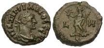 Ancient Coins - Maximianus, AE Tetradrachm, 292/293 (Year 8), Egypt-Alexandria, Officina 4 - Emmett 4113; Milne 5066-7 variant; Curtis --; BMC -- (Ex Keith Emmett Collection)