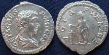 Ancient Coins - Roman Imperial, Geta, AR Denarius, 203-208, Rome - RIC IV, Part I, 38b