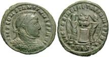 Ancient Coins - Constantine I, AE3, 319, Siscia, Officina 3 - RIC VII, 59