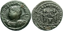 Ancient Coins - Constantine I, AE3, 318, Siscia, Officina 5 - RIC VII, 50