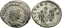 Ancient Coins - Gallienus, Billon Antoninianus, 260, Joint Reign, Antioch (RIC) Samosata (Göbl) - RIC V, Part I, 450; Göbl 1702b (Ex Keith Emmett Collection)
