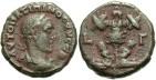 Ancient Coins - Maximinus I, AE Tetradrachm, 236/237 (Year 3), Egypt-Alexandria - Emmett 3301; Milne 3260; Curtis --; BMC 1808 variant (Ex Keith Emmett Collection)