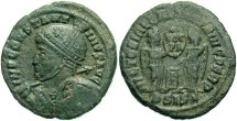 Ancient Coins - Constantine I, AE3, 318, Siscia, Officina 2 - RIC VII, 50
