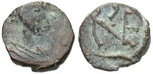 Ancient Coins - Leo I, AE4, 457-474, Uncertain Mint - RIC X, 693 (Imitative?)